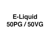 E-Liquid - 50% PG / 50% VG
