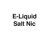 E-Liquid - Salt Nic