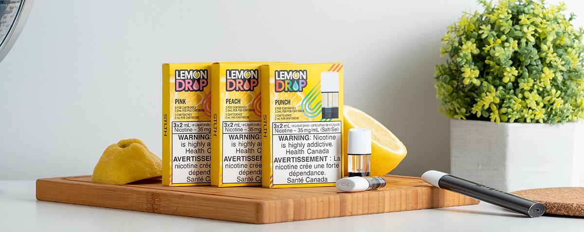 New STLTH Lemon Drop Pods!