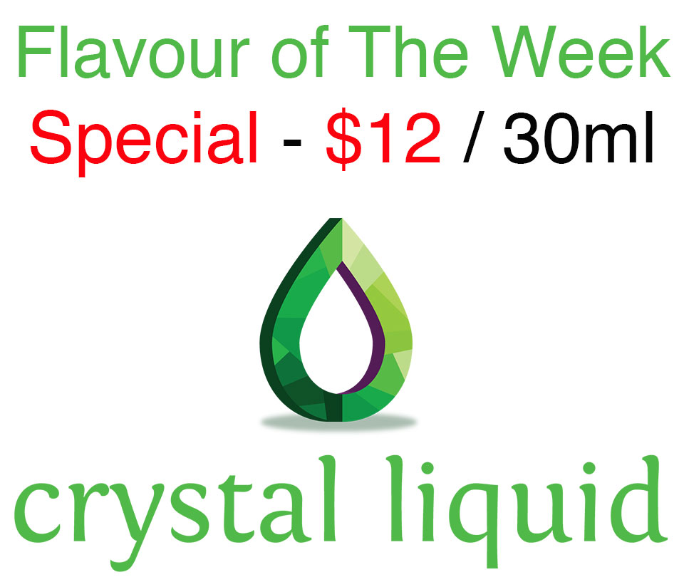 Crystal Flavour of The Week Special!