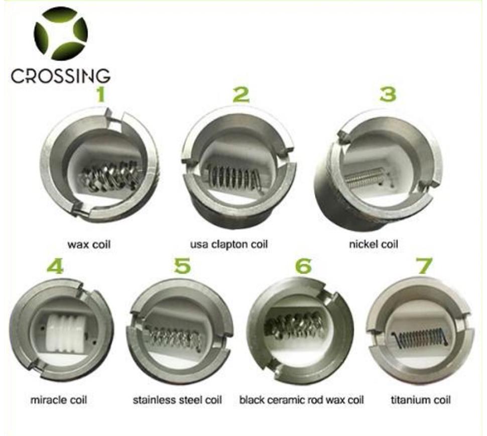 Saionara Replacement Coils - E-Cigz by SZ Crossing Vaporizer