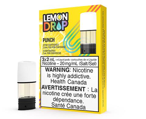 STLTH Pod Pack - Lemon Drop Punch | E-Cigz