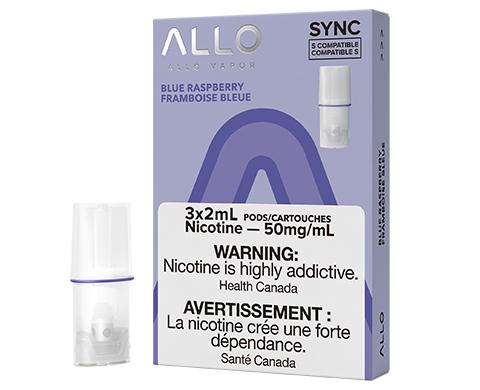 ALLO Sync Pod Pack - Blue Raspberry   E-Cigz