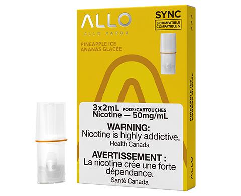 ALLO Sync Pod Pack - Pineapple Ice | E-Cigz