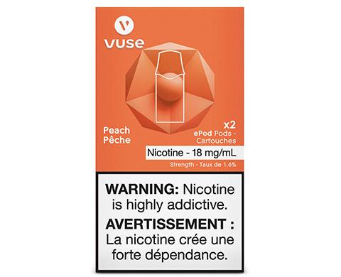 Vuse (Vype) ePod Peach Pods (2pk)   E-Cigz