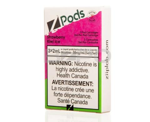 STLTH Pod Pack - Zpods Strawberry Kiwi Ice