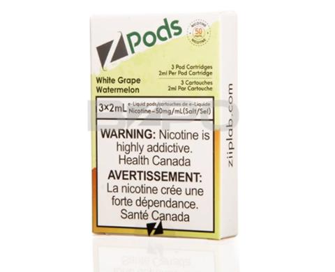 STLTH Pod Pack - Zpods White Grape Watermelon