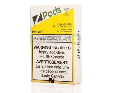 STLTH Pod Pack - Zpods Lemon T
