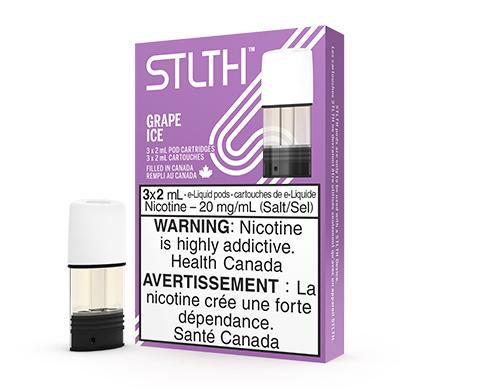 STLTH Pod Pack - Grape Ice | E-Cigz