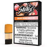 STLTH Pod Pack - Savage Orange Mango Guava Ice | E-Cigz